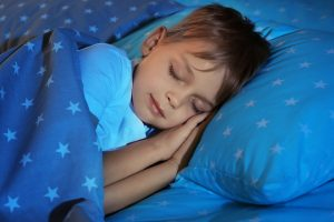 Little wee lad getting a good nights sleep (Fitness Krazy Blog)